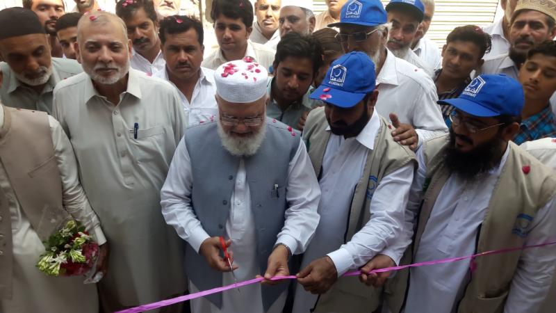 جماعت اسلامی کے جنرل سیکرٹری لیاقت بلوچ نے جلالپور بھٹیاں میں واٹر فلٹریشن پلانٹ کا افتتاح کر دیا