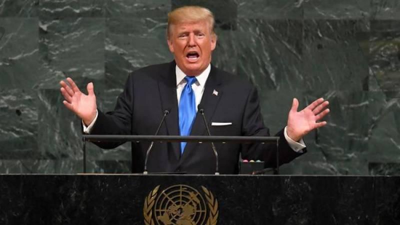 ایران میں قاتل حکومت ہے:ڈونلڈ ٹرمپ