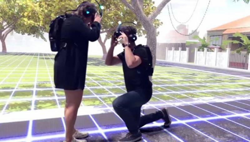 آسڑیلوی نوجوان کا شادی کے پرپوزل کے لیے جدید ٹیکنالوجی کااستعمال