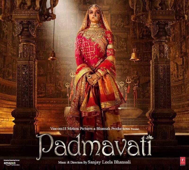 فلم پدماوتی میں دیپیکا پڈوکون کو ہیروئن کاسٹ کرنے پر ہنگامہ کھڑا ہو گیا