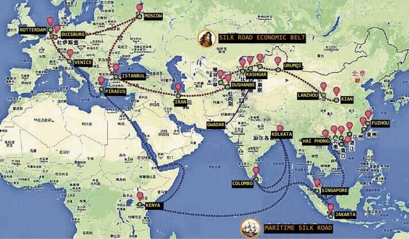 چین میں بیلٹ اینڈ روڈ منصوبے کے متعلق میڈیا سنٹر قائم کر دیا گیا