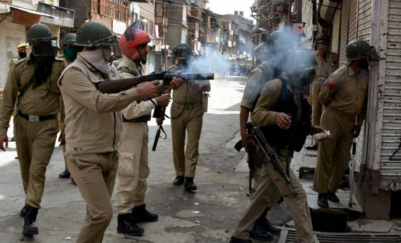 مقبوضہ کشمیر میں بھارتی فورسز سے جھڑپ میں 4 مجاہدین شہید