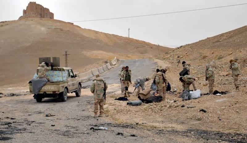 حمص میں شامی فوج کی داعش کے خلاف اہم پیش قدمی
