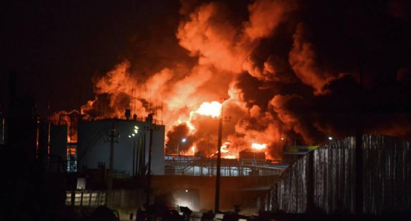 یوکرین، اسلحہ ڈپو میں آتشزدگی کے باعث 30 ہزار افراد کو محفوظ مقامات پر منتقل کیا گیا