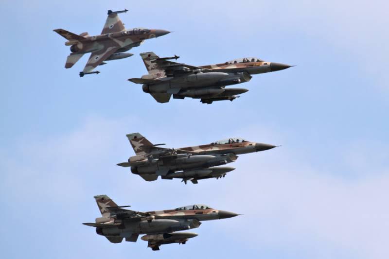 اسرائیلی جنگی طیاروں کا اردن کے مسافر طیارے کا گھیرائو