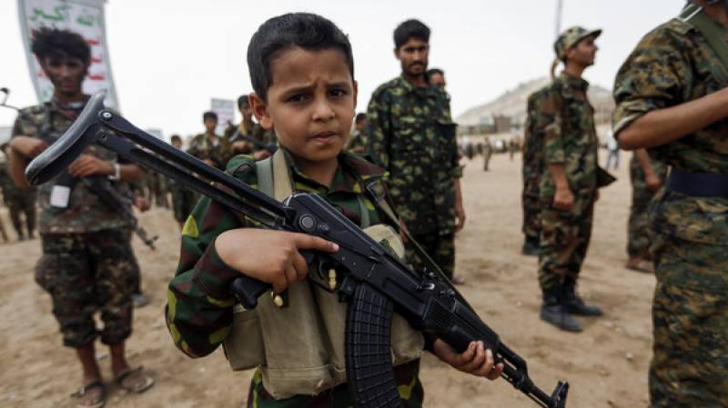 یمن ،حوثی باغیوں اور فوج کے درمیان جنگ میں 200بچے جان سے گئے