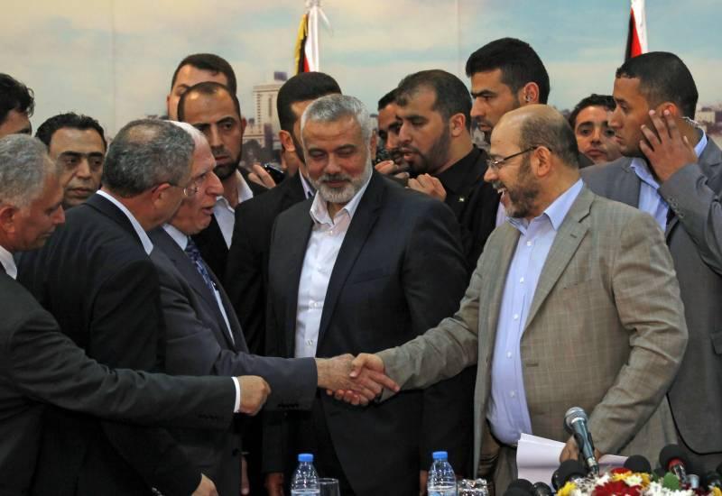 حماس اور الفتح کے درمیان مصالحت،معاہدہ طے پا گیا