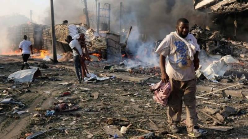 صومالیہ میں بدترین بم دھماکے،ہلا کتوں کی تعداد 276 تک پہنچ گئی