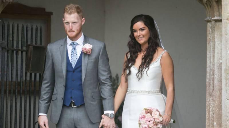 انگلش آل راﺅنڈر بین اسٹوکس نے شادی کر لی