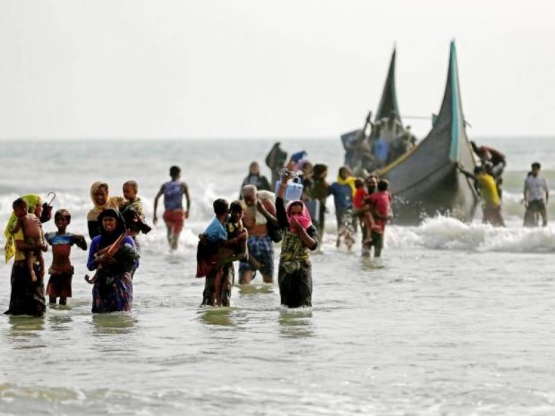 روہنگیا مسلمانوں کی کشتی ڈوبنے سے 6 بچوں سمیت 12 افراد جاں بحق