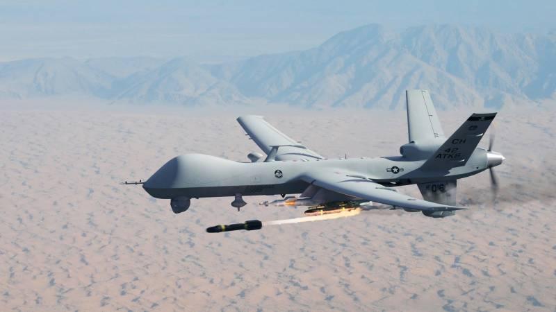 کرم ایجنسی میں افغان سرحد کے قریب امریکی ڈرون حملہ