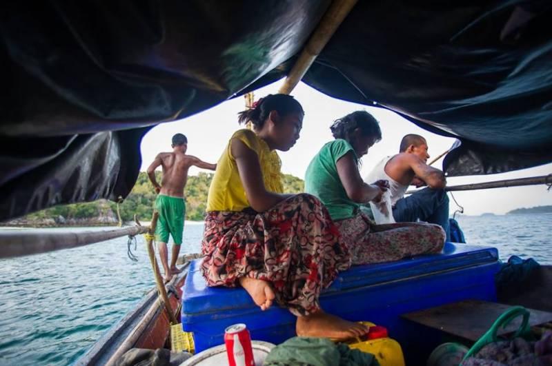 روہنگیا مسلمانوں کی ایک اور کشتی الٹ گئی