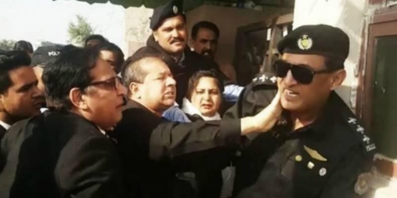 پولیس آفیسر کو تھپڑ مارنے کا معاملہ، ایڈیشنل ایڈووکیٹ جنرل نوکری سے فارغ