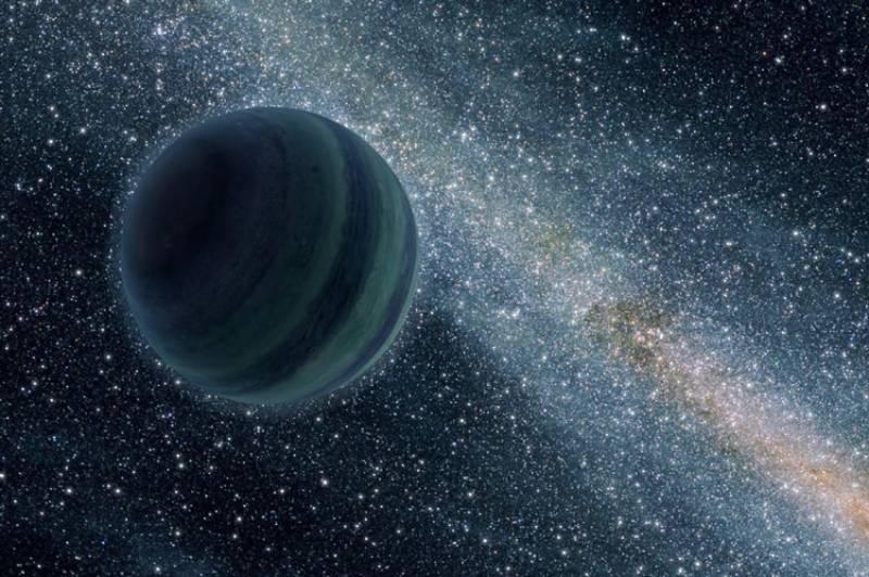 زمین کے مقابلے میں 10 گنا بڑا سیارہ دریافت