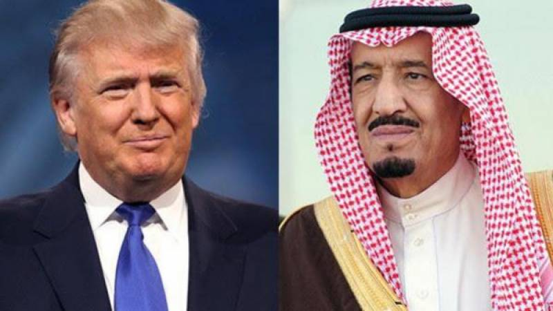 ایران کے خلاف امریکا کی پرعزم اور دور اندیش حکمت عملی کو خیر مقدم کرتے ہیں:سعودی فرمانروا