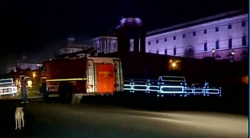 بھارتی وزیر اعظم مودی کے دفتر میں آگ لگ گئی