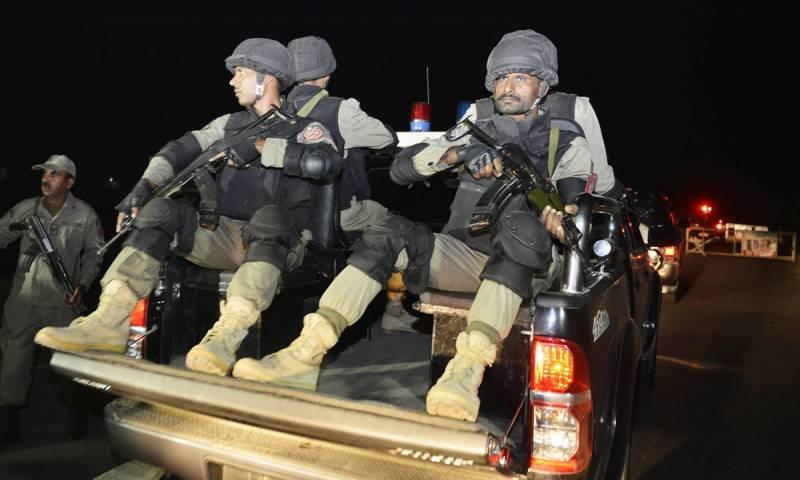 لاہور،سیکیورٹی فورسز کی کارروائی ، 3مبینہ دہشگرد گرفتار