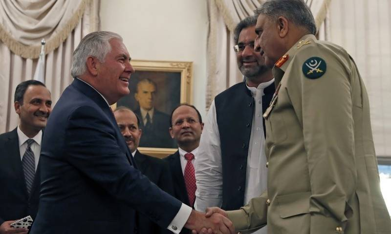پاکستان خطے میں امن واستحکام اور مشترکہ اہداف کے حصول کے لیے اہم ہے:امریکی وزیرخارجہ