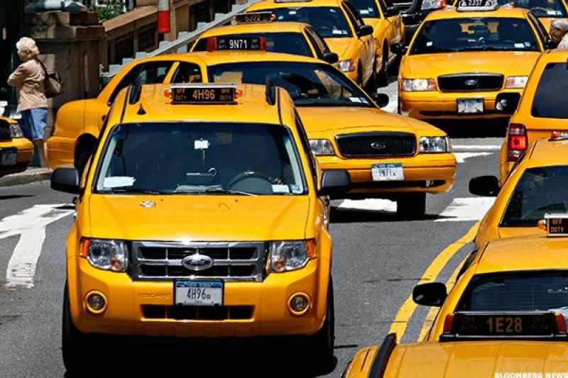ٹیکسیوں کا رنگ