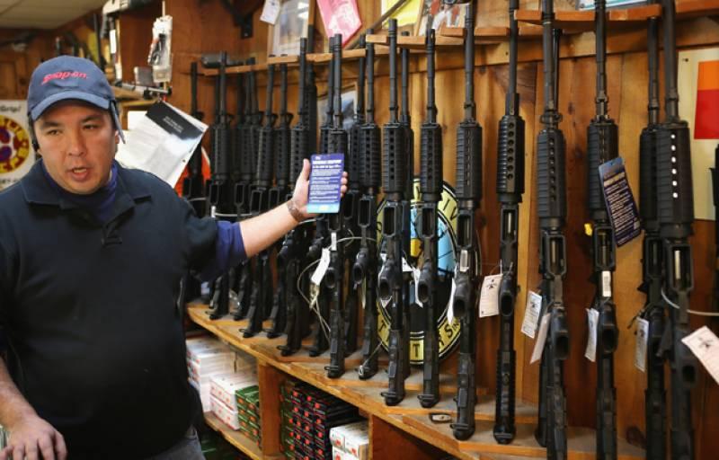 امریکہ' 30 لاکھ افراد روزانہ بندوق ساتھ لیکر چلتے ہیں'تحقیقاتی رپورٹ