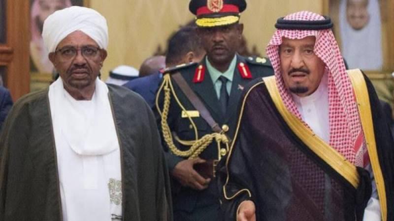 سعودی فرمانروا کی سوڈان کے صدر سے ملاقات