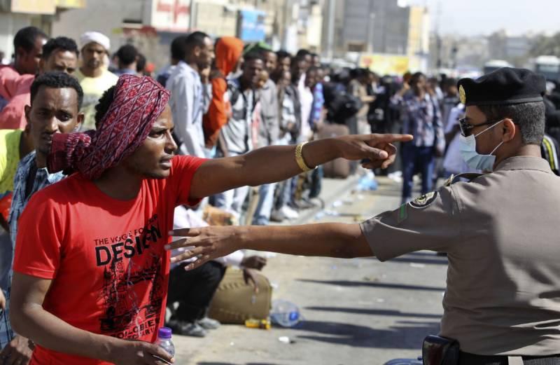 سعودی عرب میں4476 غیر قانونی تارکین گرفتار