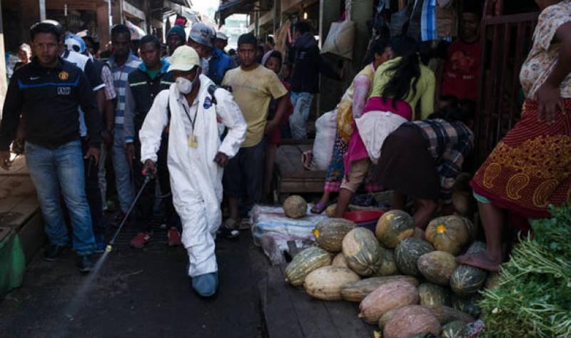 مڈغاسکر میں طاعون کی وباءپھیل گئی ' 124 افراد ہلاک