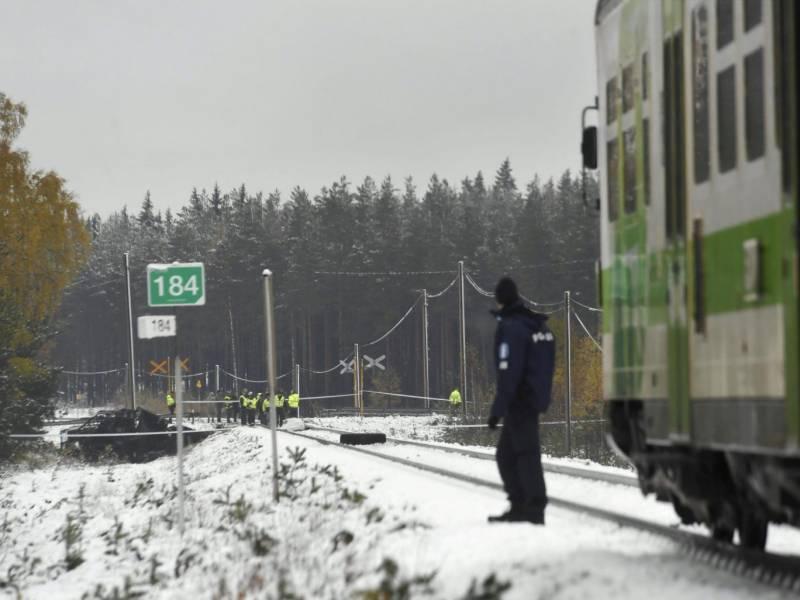 فن لینڈ میں ٹرین حادثہ، چار افراد ہلاک