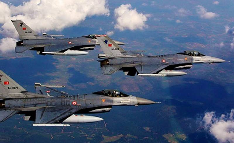 ترک فضائیہ کی بڑی کارروائی میں دہشتگرد تنظیم کے 8 ارکان ہلاک