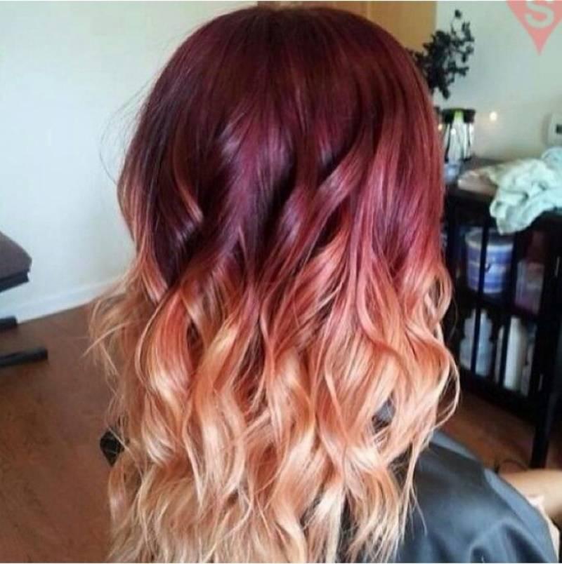 بالوں کو کبھی ڈائی مت کریں