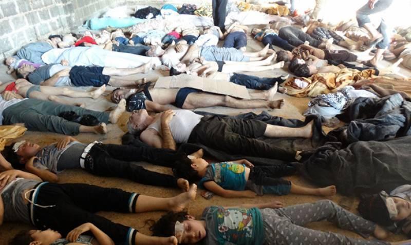 شام میں ہونے والے کیمیائی حملے میں بشار الاسد ملوث