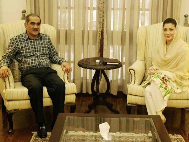 مریم نوازاور خواجہ سعد رفیق کے درمیان ملاقات،آئند ہ کی حکمت عملی پر غور