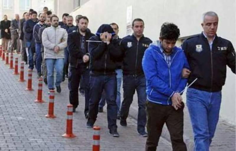 ترکی، غیرقانونی طریقے سے یورپ جانے والے 434 افراد گرفتار