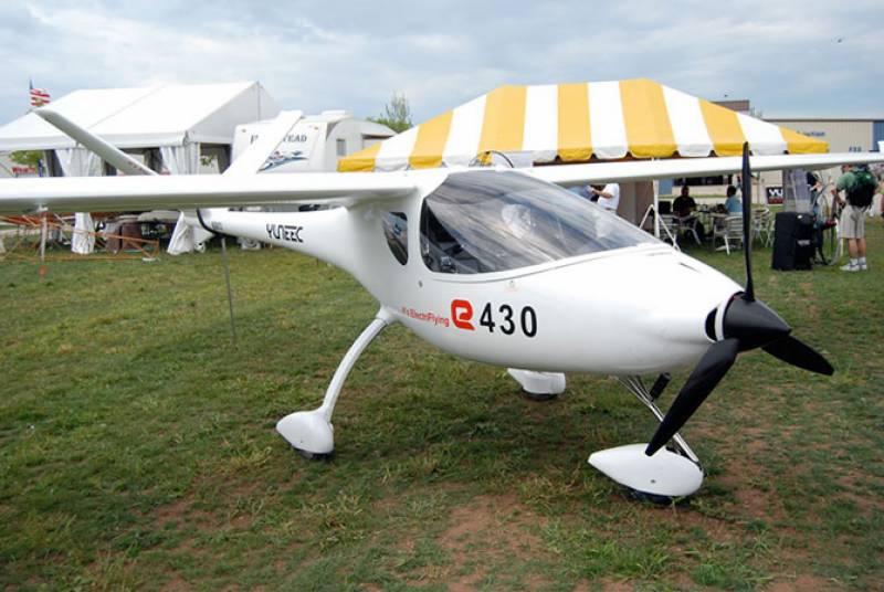 چین نے 160 کلو میٹر کی رفتار سے پرواز کرنے والا پہلا برقی طیارہ تیار کرلیا