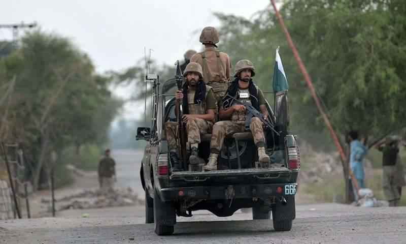 سیکیورٹی فورسز کی بلوچستان اور شمالی وزیرستان میں خفیہ اطلاعات کی بنیاد پر آپریشن ردالفساد کے تحت کارروائی