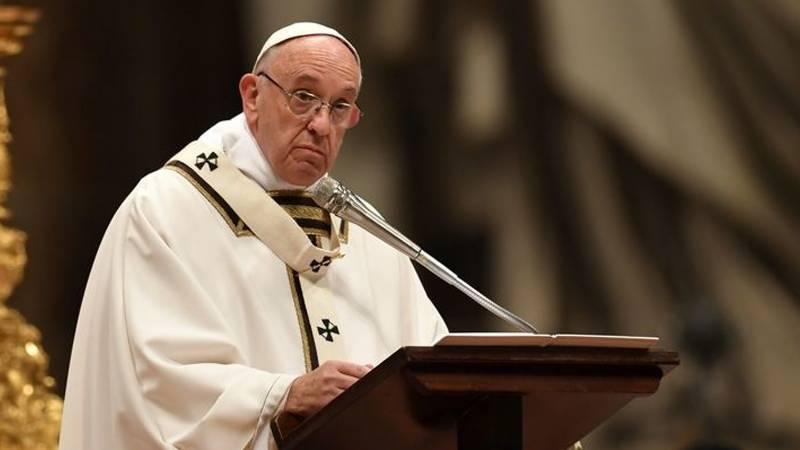 دنیا ایک بار پھر جنگ کے دہانے پر ہے : پوپ فرانسس