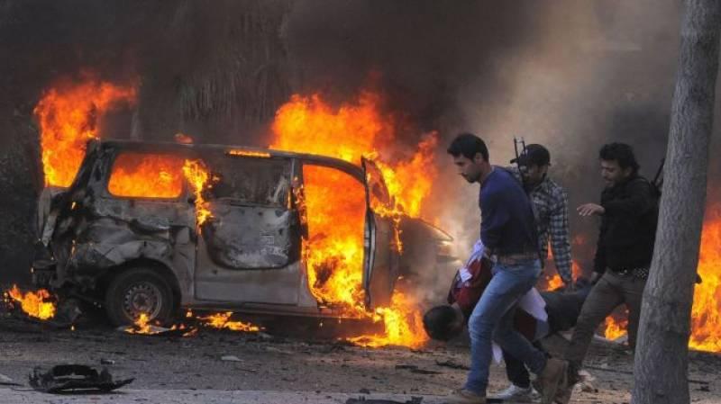 شام میں کاربم دھماکا، 9 افراد ہلاک