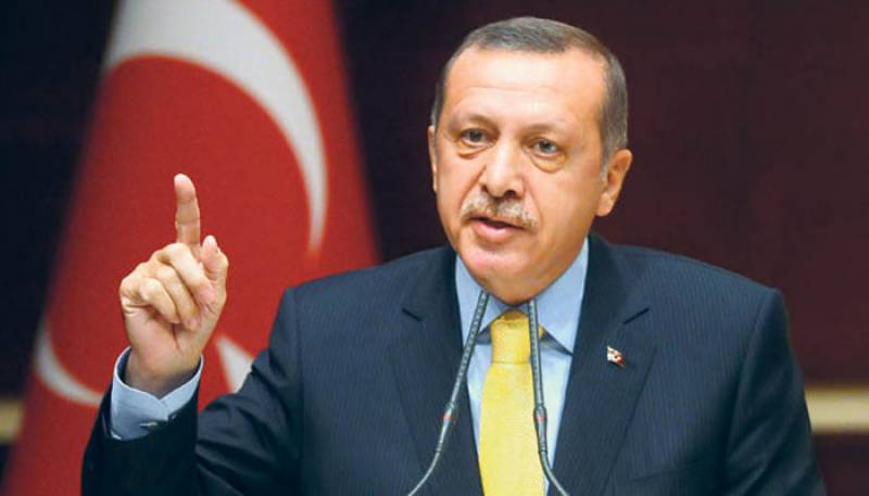 شام اور عراق میں دہشت گردوں کے تمام ٹھکانے تباہ کریں گے، ترک صدر