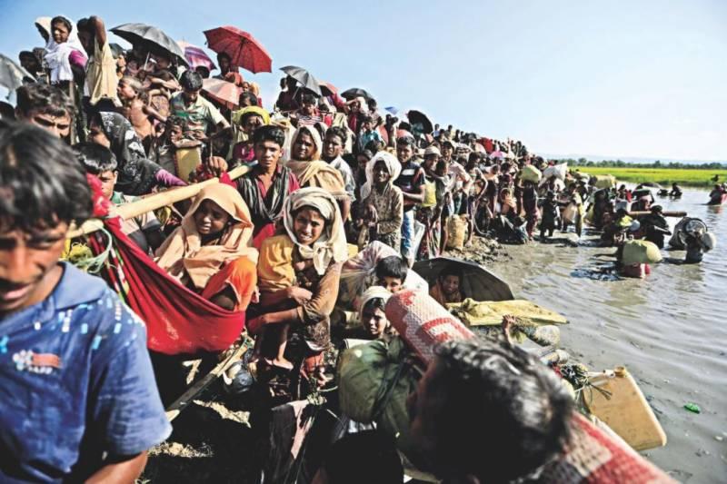 میانمار بے گھر کئے جانیوالے لاکھوں روہنگیا باشندوں کوواپس لے