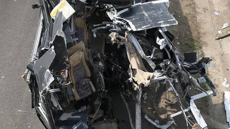 سینیگال،مسلمان زائرین کی بس کو حادثہ25جاں بحق