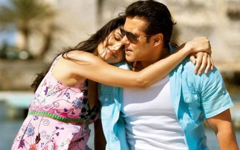 سلمان کا آن سکرین کترینہ کو پیار کرنے سے انکار
