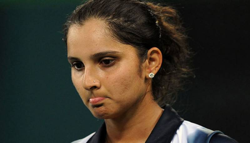 ٹینس سٹار ثانیہ مرزا ڈبلز رینکنگ میں ٹاپ ٹین سے باہر جا پہنچیں