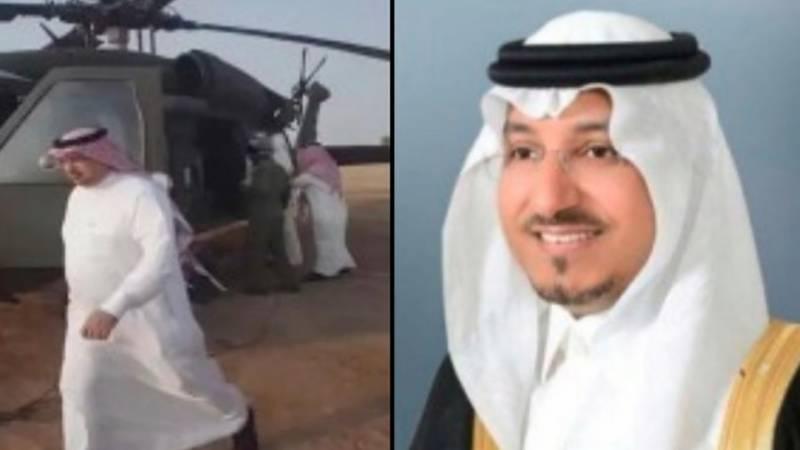 """""""سعودی شہزادہ ہیلی کاپٹر حادثہ"""" """" عینی شاہد"""" پاکستانی شہری سامنے آگیا"""