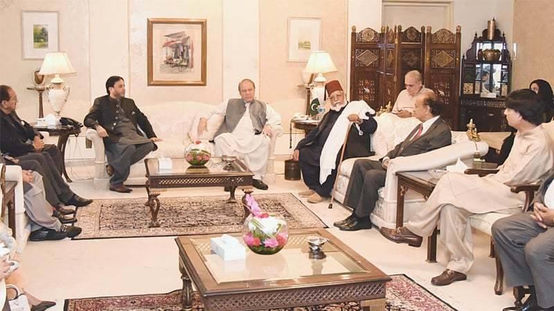 نواز شریف کی زیر صدارت اہم اجلاس جاری، نثار بھی شریک