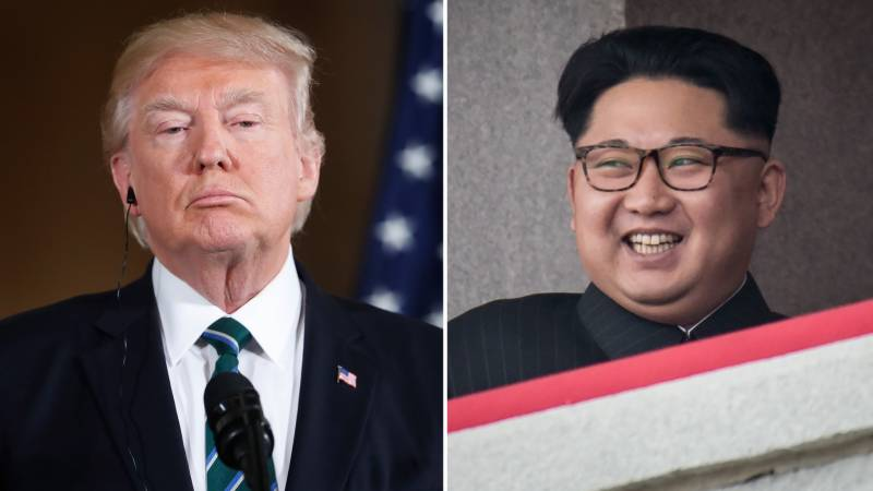 امریکا کی شمالی کوریا کیساتھ کشیدگی کے بعد ٹرمپ کا یو ٹرن