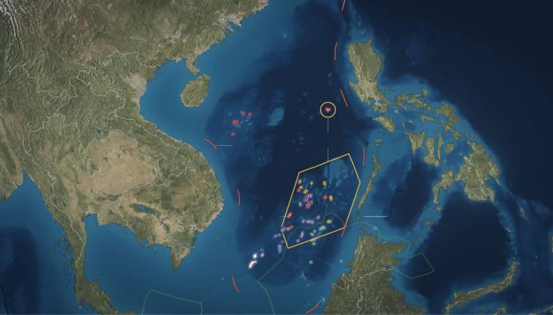 چین نے جزیرے بنانے والا جہاز متعارف کروا دیا