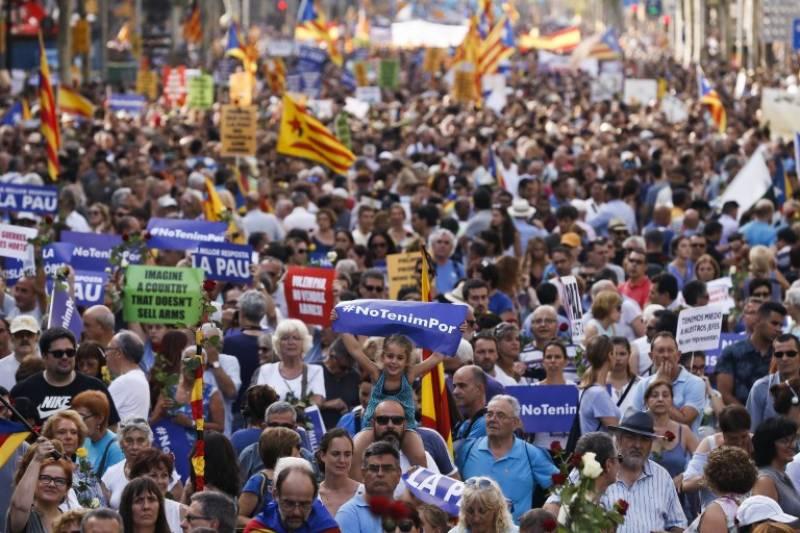 اسپین کی شاہ راہوں پر اسرائیل کیخلاف احتجاج