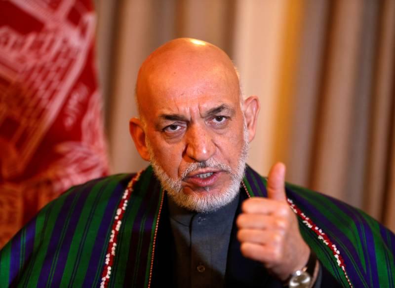 امریکہ نے افغانستان میں قدم جمانے میں داعش کی بھرپور طریقے سے مدد کی: حامد کرزئی