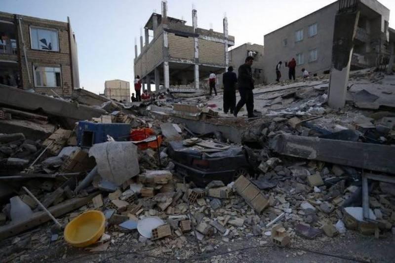 عراق اور ایران میں شدید زلزلہ ، 350ہلاکتیں