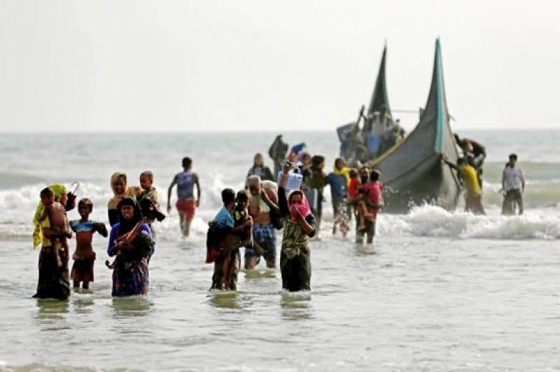 روہنگیا مسلمانو ں کی ایک اور کشتی ڈوب گئی